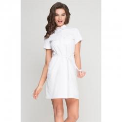 Kosmeetiku särk-kleit valge Sport