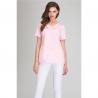 Блузка косметическая светло-розовая