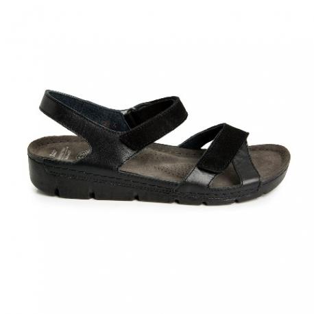 Ортопедическая обувь женская чёрная