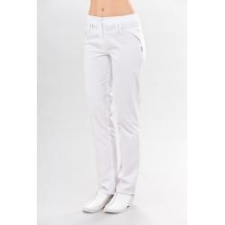 Медицинские брюки белые